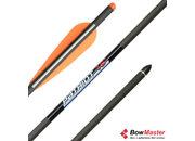 Карбоновая стрела для арбалета (болт) Bowmaster Patriot 16 дюймов
